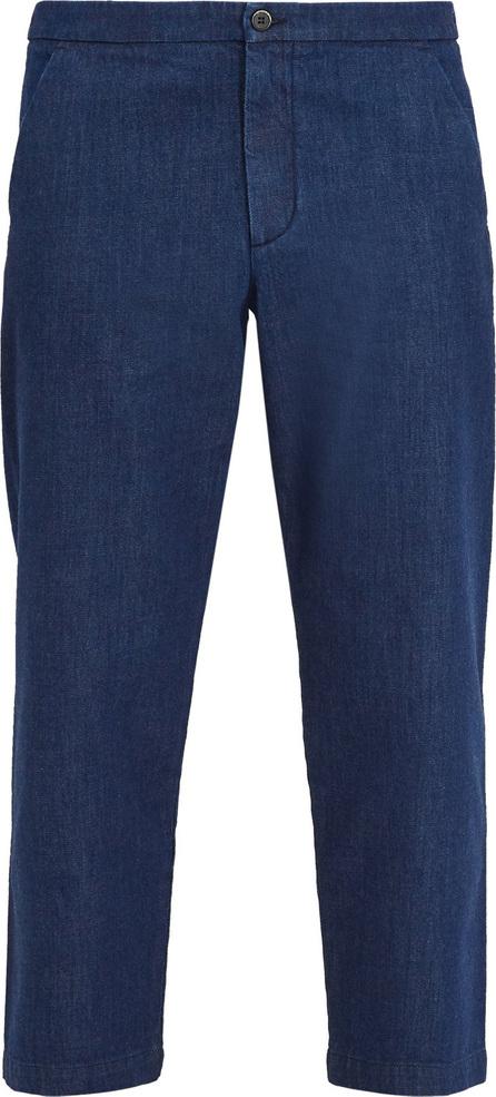 Barena Venezia Mid-rise cropped denim jeans
