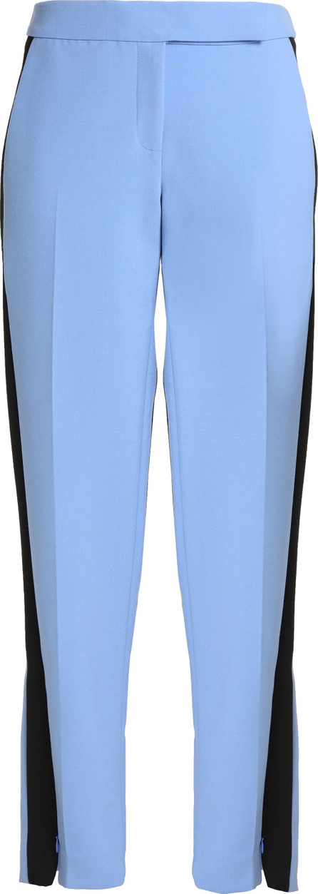 Amanda Wakeley Pixel two-tone crepe straight-leg pants