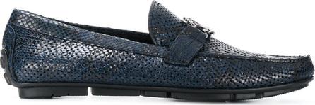 Roberto Cavalli Woven loafers