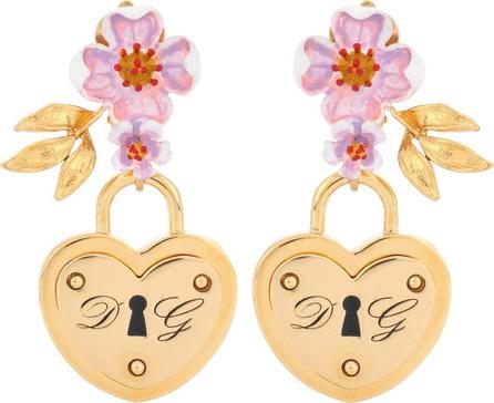 Dolce & Gabbana Locket clip-on earrings