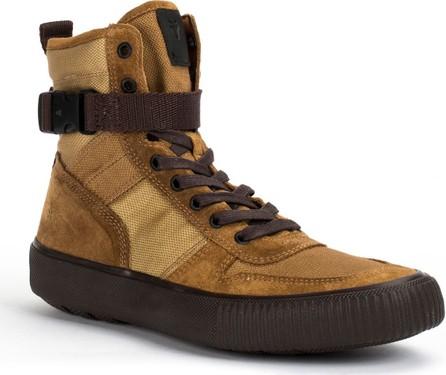 Frye Men's Canvas and Suede Combat Sneakers