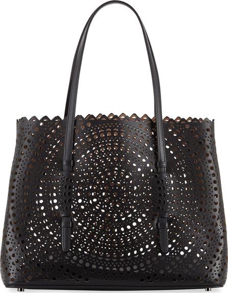 Alaïa Small Vienne Laser-Cut Leather Tote Bag