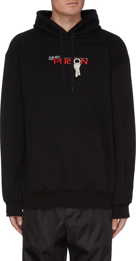 Doublet ''Key Person' Embroidered Hoodie