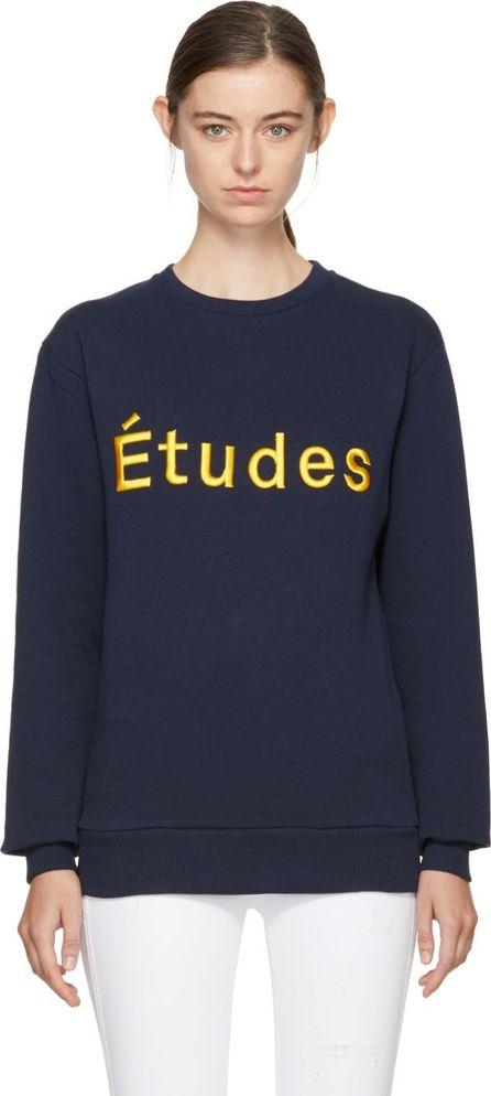 Etudes Navy Étoile Logo Sweatshirt