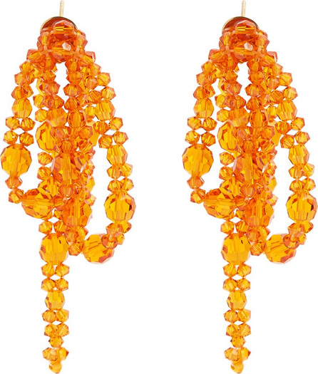 Simone Rocha Little Bow bead-embellished earrings