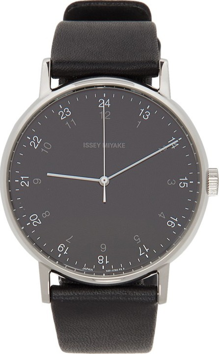 Issey Miyake Men Black F Series Watch