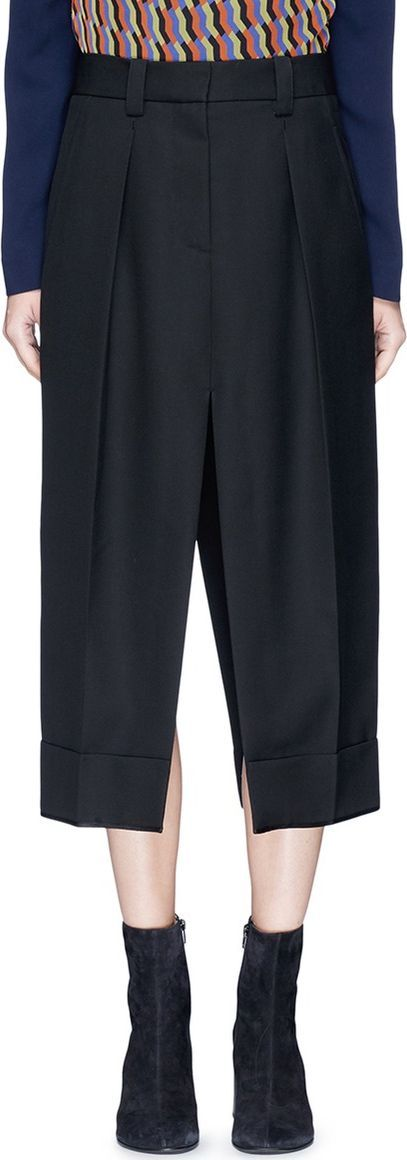 Acne Studios 'Saare' deconstructed tailored pants maxi skirt