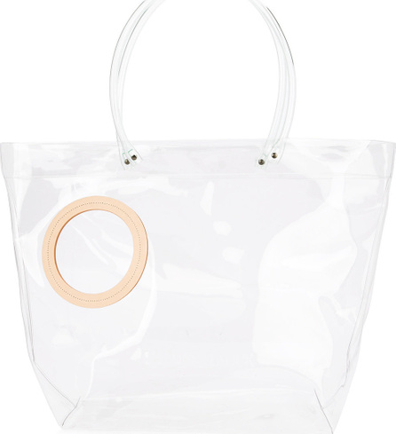 Building Block Peephole tote bag