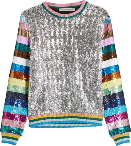 Mary Katrantzou Magpie Sequin Sweatshirt
