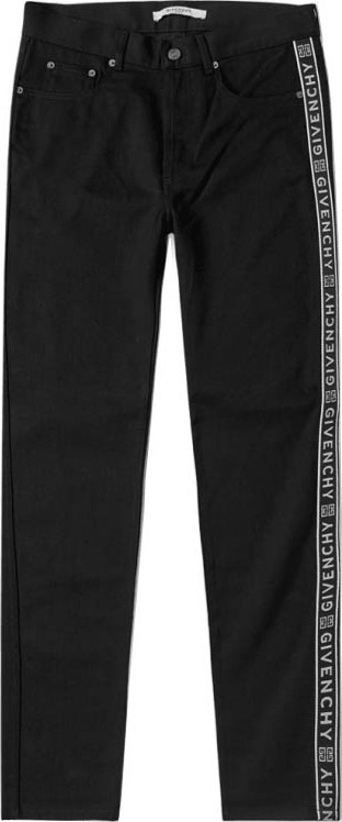Givenchy taped logo jeans