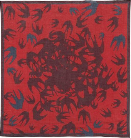 McQ - Alexander McQueen Swallow printed scarf