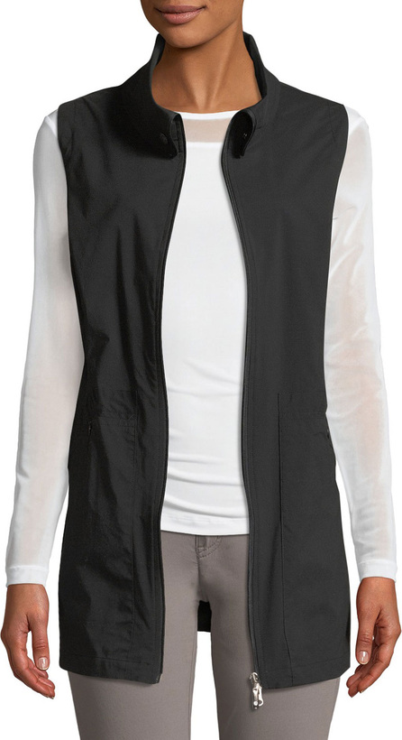 Anatomie Deleney Long Zip-Front Vest