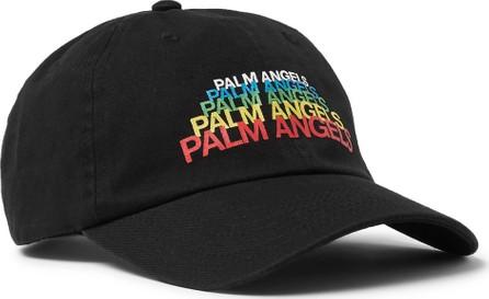 Palm Angels Logo-Print Cotton-Twill Baseball Cap