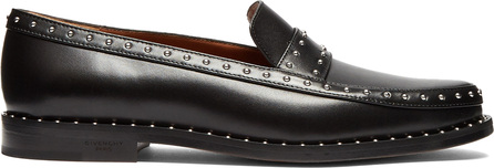 Givenchy Elegant studded leather loafers