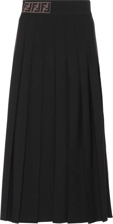 Fendi Wool-blend skirt