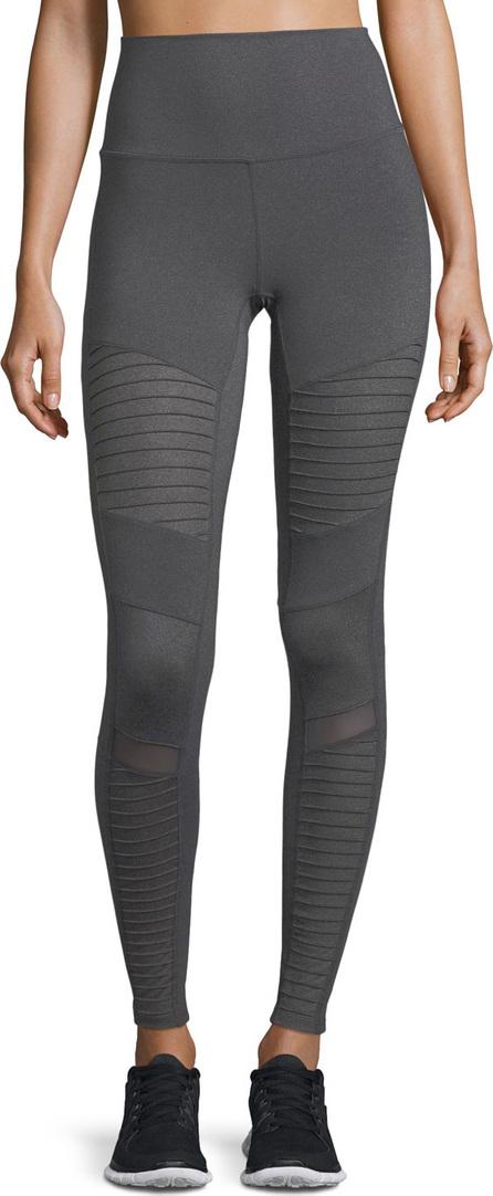 Alo Yoga Moto High-Waist Sport Leggings
