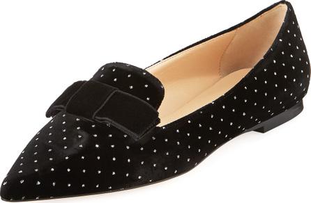 Jimmy Choo Gala Flat Embellished Loafers