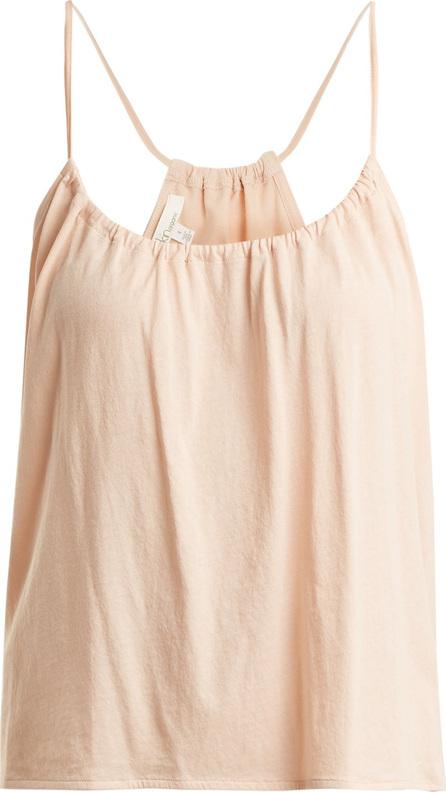 SKIN Kaeleigh organic pima-cotton cami top
