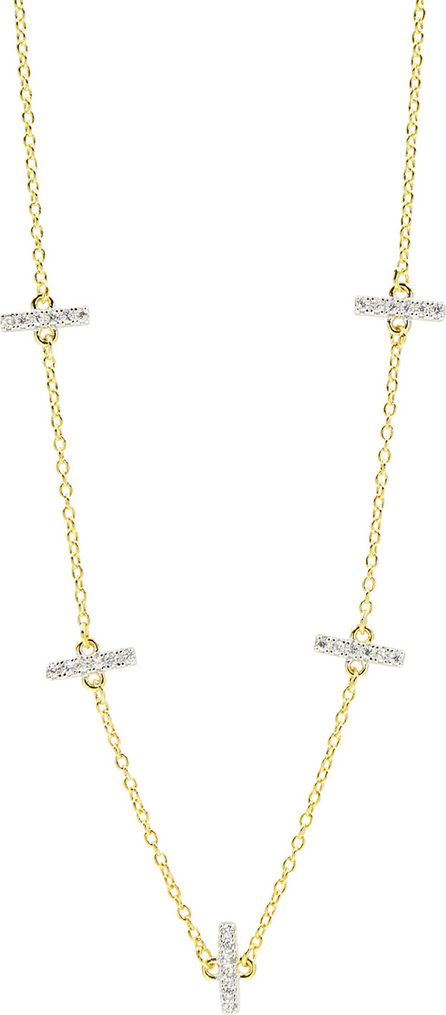 Freida Rothman Radiance Pave Station Necklace