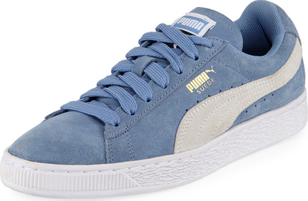 PUMA Classic Suede Lace-Up Sneakers