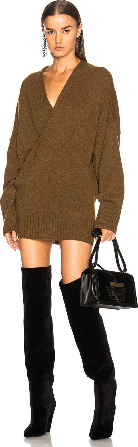 Haider Ackermann Wrap Sweater