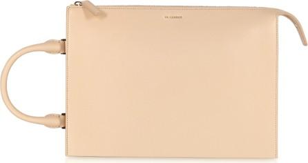 Jil Sander Tootie Medium Knitted Leather Handbag