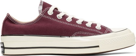 Converse Burgundy Chuck 70 Low Sneakers