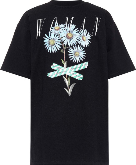 Off White Printed cotton-blend T-shirt
