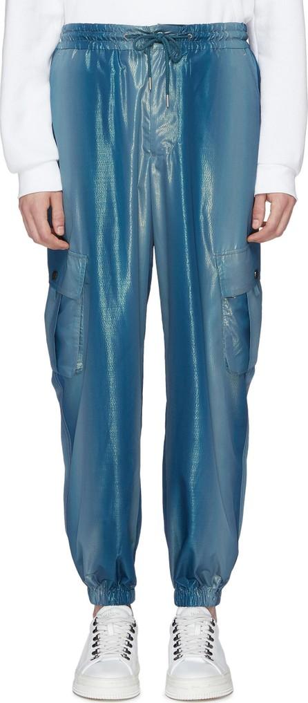 Feng Chen Wang Metallic cargo jogging pants