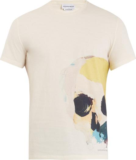 Alexander McQueen Skull-print cotton-jersey T-shirt