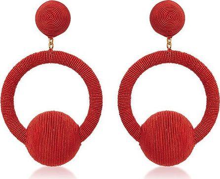 Rebecca de Ravenel Linda La La Hoop Earrings