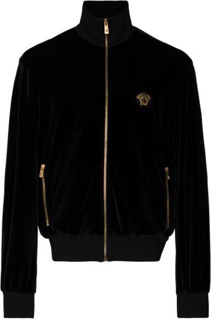Versace Medusa zip-up sweatshirt
