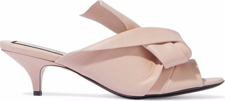 N°21 Knotted leather mules