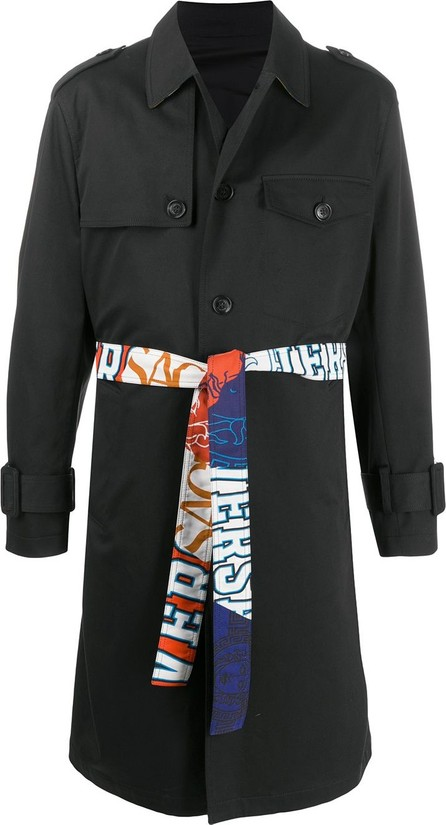 Versace Belted trench coat
