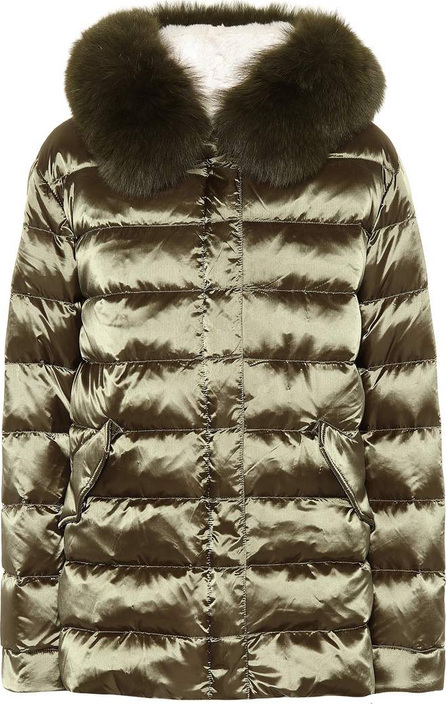Army By Yves Salomon Fur-trimmed down jacket