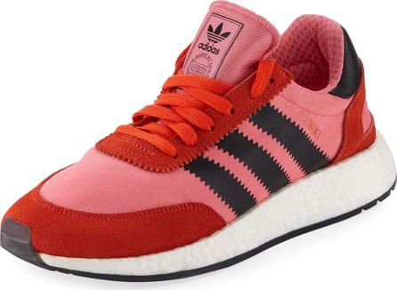 Adidas Iniki Vintage Runner Sneaker, Pink/Orange
