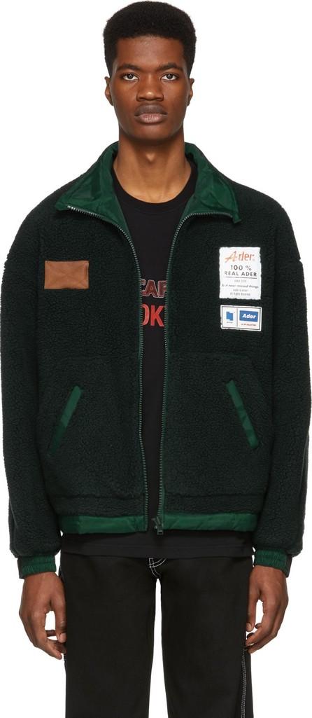 ADER error Reversible Green Fleece Jacket