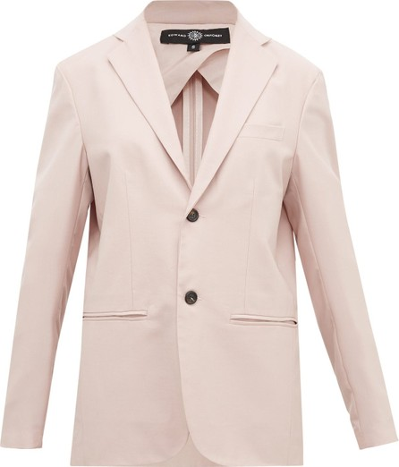 Edward Crutchley Single-breasted wool jacket