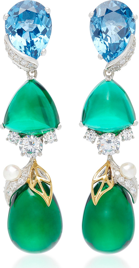 Anabela Chan M'O Exclusive Emerald Berry Earrings