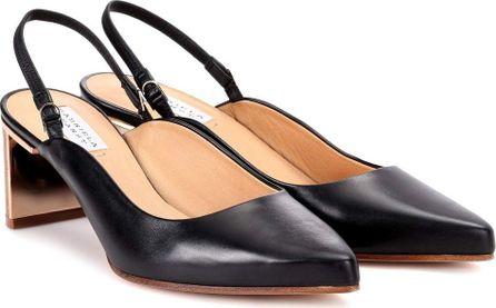 Gabriela Hearst Elisabeth leather slingback pumps