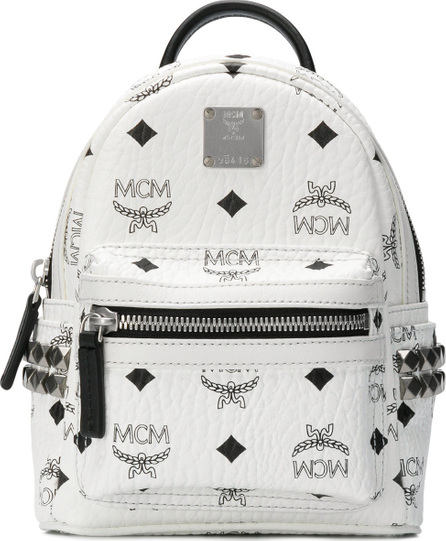 MCM Small logo backpack