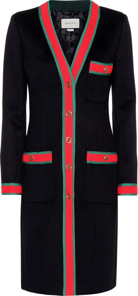 Gucci Embellished wool cardigan