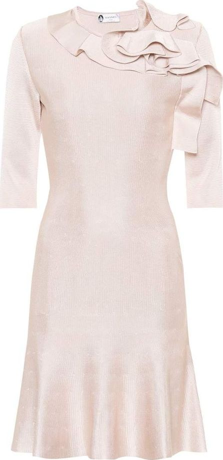 Lanvin Pointelle knitted dress