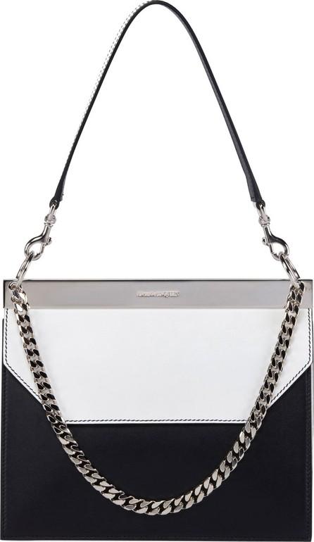 Alexander McQueen Bar Colorblock Leather Shoulder Bag