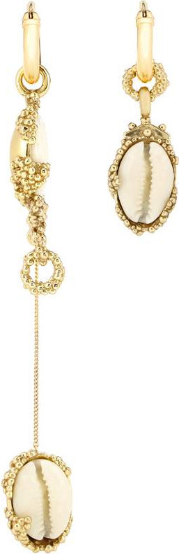 Ellery Nalani gold-plated earrings