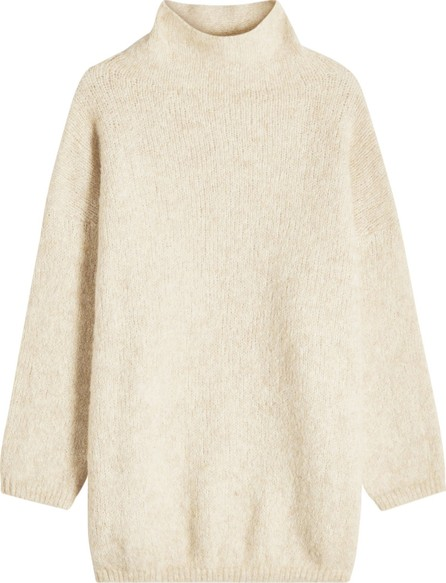 American Vintage Turtleneck Pullover with Baby Alpaca and Cotton