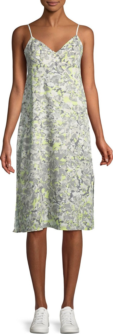 Splendid Double Layer Printed Cami Dress