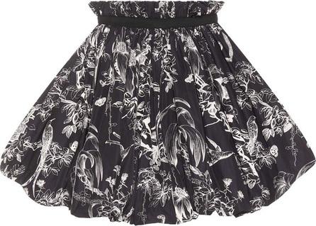 Alexander McQueen Floral-print puff skirt