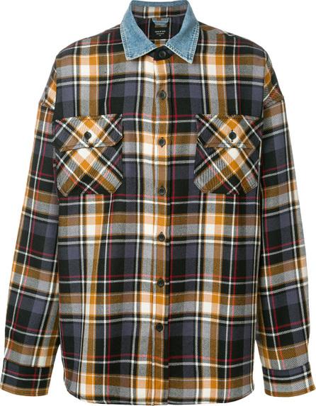 Fear of God Contrast collar plaid shirt
