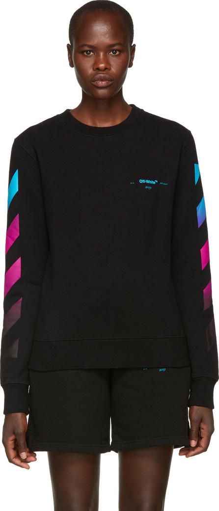 Off White Black Gradient Sweatshirt